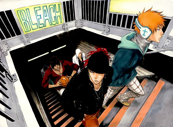 article, bleach, and get backers image