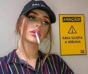 cigarrette, cigarro, and girls image