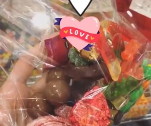 bears, candy, and hearts image