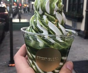 ice cream and yummy image