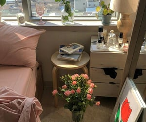 room, pink, and aesthetic image