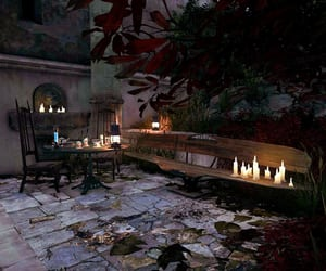 bench, romantic, and dishonored image