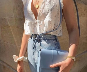 aesthetic, handbag, and jeans image