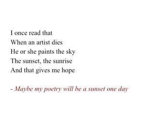 artist, feelings, and poems image
