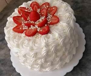 cake, comida, and pastel image