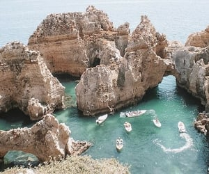 portugal, summer, and sea image