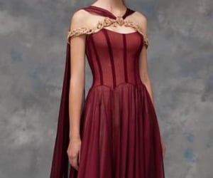 dress, fantasy, and haute couture image
