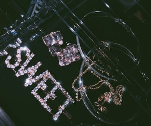 bling, jewelry, and sweet image
