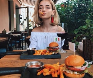 beauty, food, and fries image