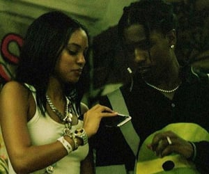 couples, asap rocky, and love image