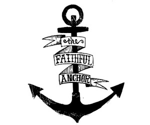 anchor, tattoo, and love image