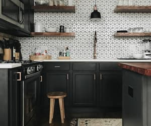 beautiful, kitchen, and home decore image