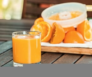 orange and orange juice image