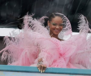 pink, rihanna, and cropover image