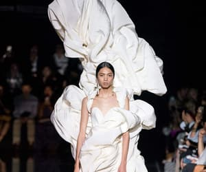 catwalk, haute couture, and models image