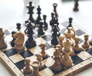 aesthetic, chess, and game image