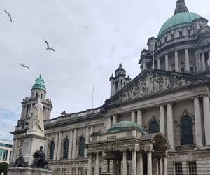 belfast, city hall, and holiday image