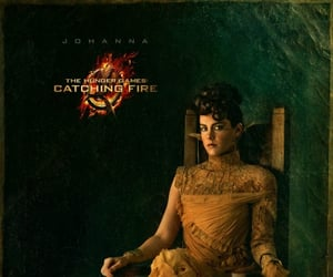 hunger games, catching fire, and johanna mason image