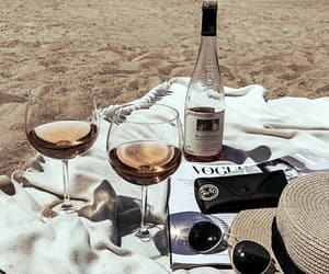 accessories, beach, and glass image