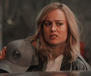 icon, Marvel, and brie larson image