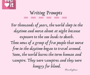 dystopia, vampires, and writer's block image