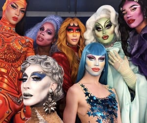 Queen, RuPaul, and kim chi image