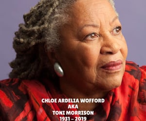 toni morrison, literature, and rest in peace image