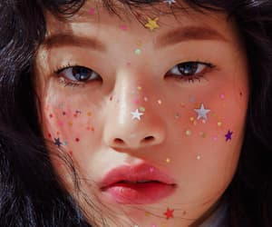 girl, stars, and aesthetic image