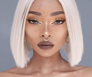 aesthetic, collar bones, and short blonde hair image
