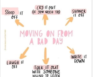 moving on and bad days image