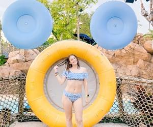 disney, swimming, and girl image