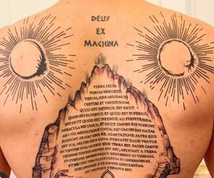boy, Deus Ex Machina, and tattoo image