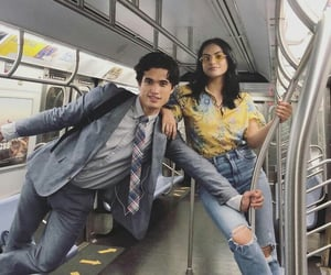 charles melton, camila mendes, and riverdale image