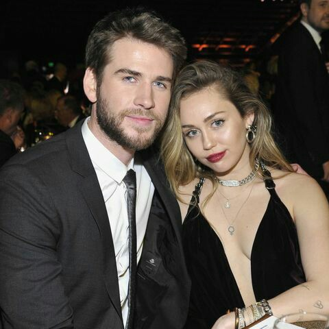 couples, miley cyrus, and liam hemsworth image