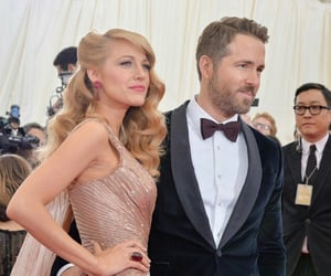 blake lively, couples, and ryan reynolds image