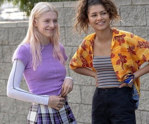 euphoria, zendaya, and hbo image