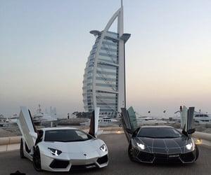 Dubai, car, and Lamborghini image