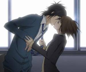 anime, kiss, and say i love you image