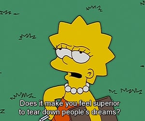the simpsons, quotes, and Dream image