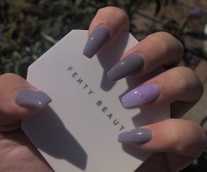 acrylics, aesthetic, and nails image