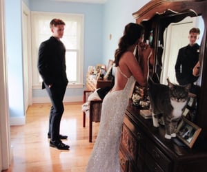 couples, Prom, and romance image