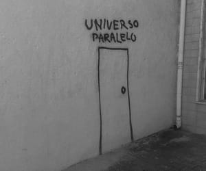 door, universe, and universo image