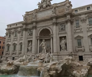 rome, italy, and trevi image