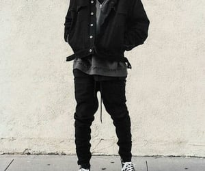black, grunge, and jackets image