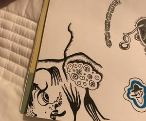 aesthetic, doodle, and art image