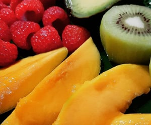 cantaloupe, food, and fruit image