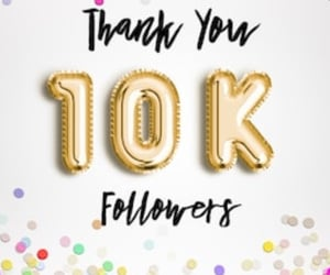 much, 10k, and thank you image