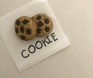 aesthetic, beige, and cookie image