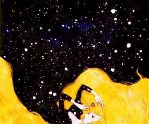 art, stars, and illustration image