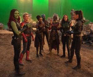 Avengers, girls, and Marvel image